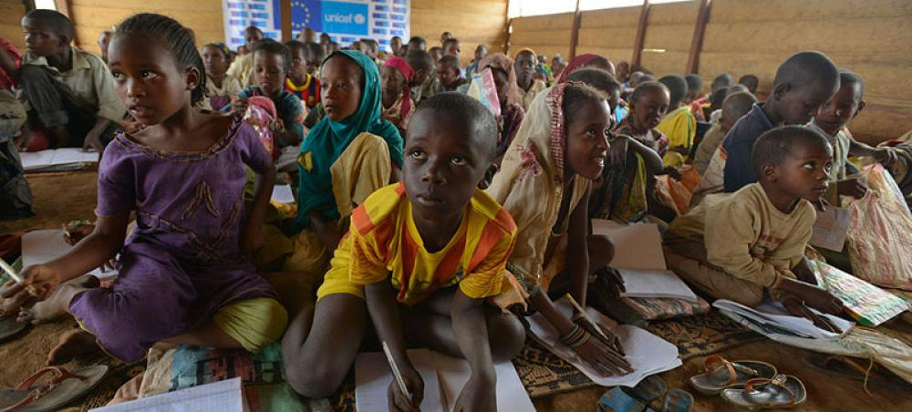Protecting education, means 'we protect the future': UN chief