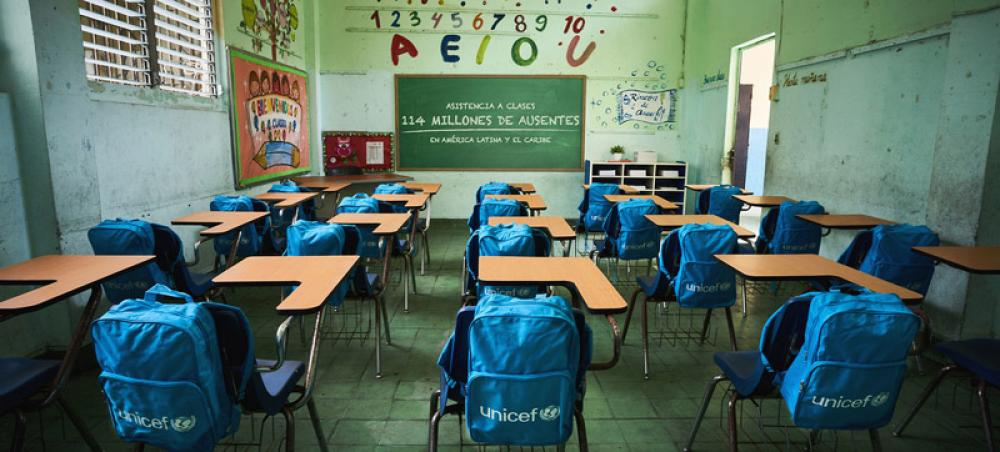 77 million children have spent 18 months out of class: #ReopenSchools, urges UNICEF