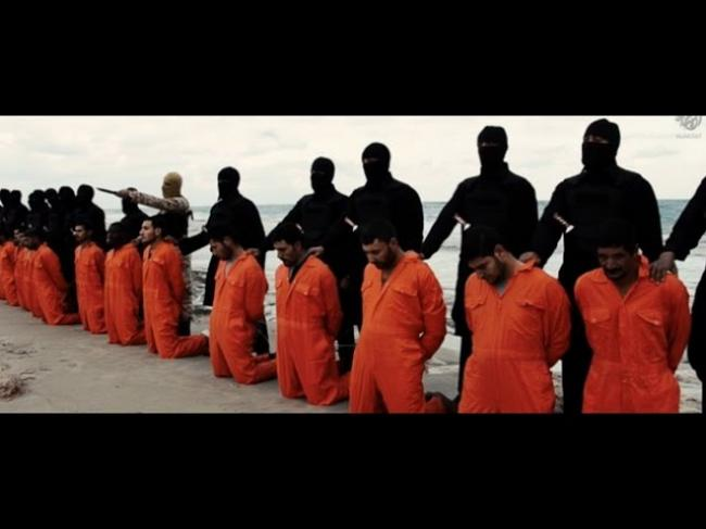 ISIS posts video of purported mass beheading of Christians