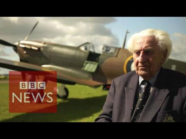 Veterans remember VE day - BBC News