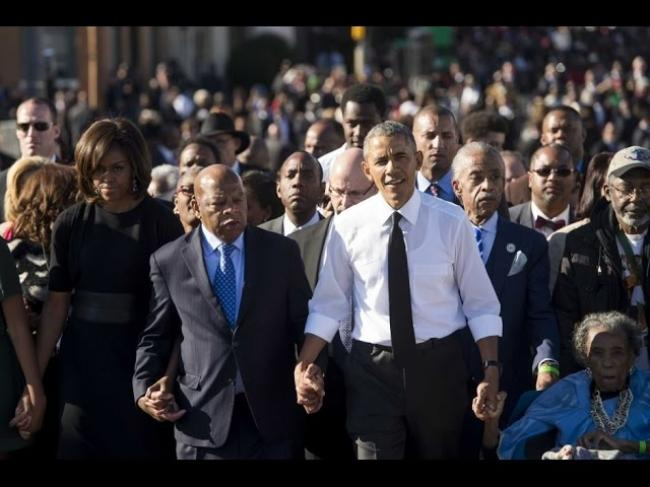 Obama Praises Selma 'Heroes' 50 years after march
