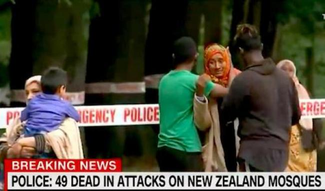 49 killed in New Zealand mosque attacks