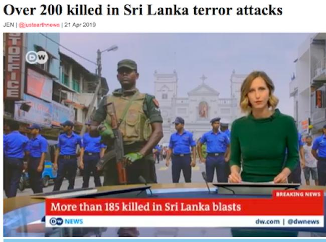 Over 200 killed in Sri Lanka terror attacks